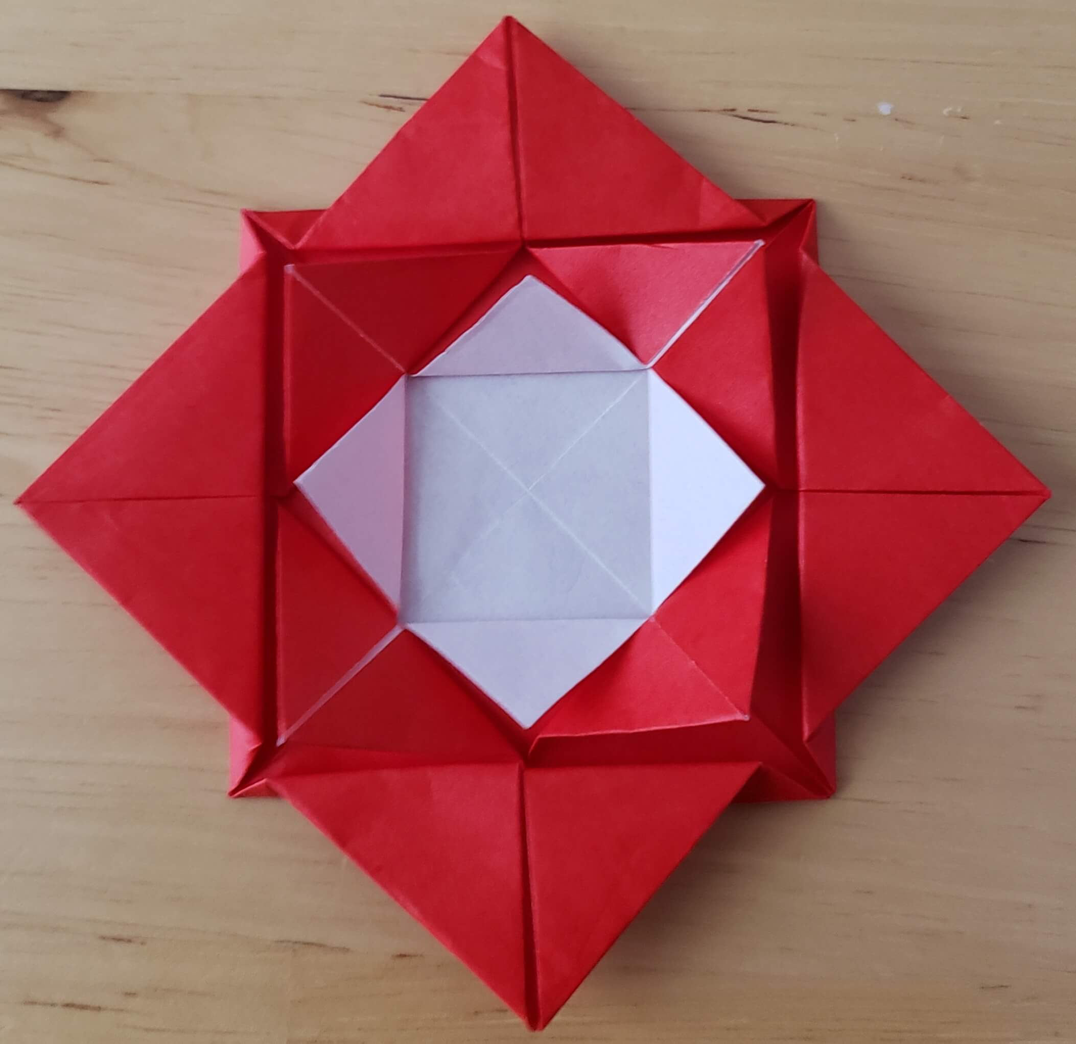 折り紙 複雑 バラ